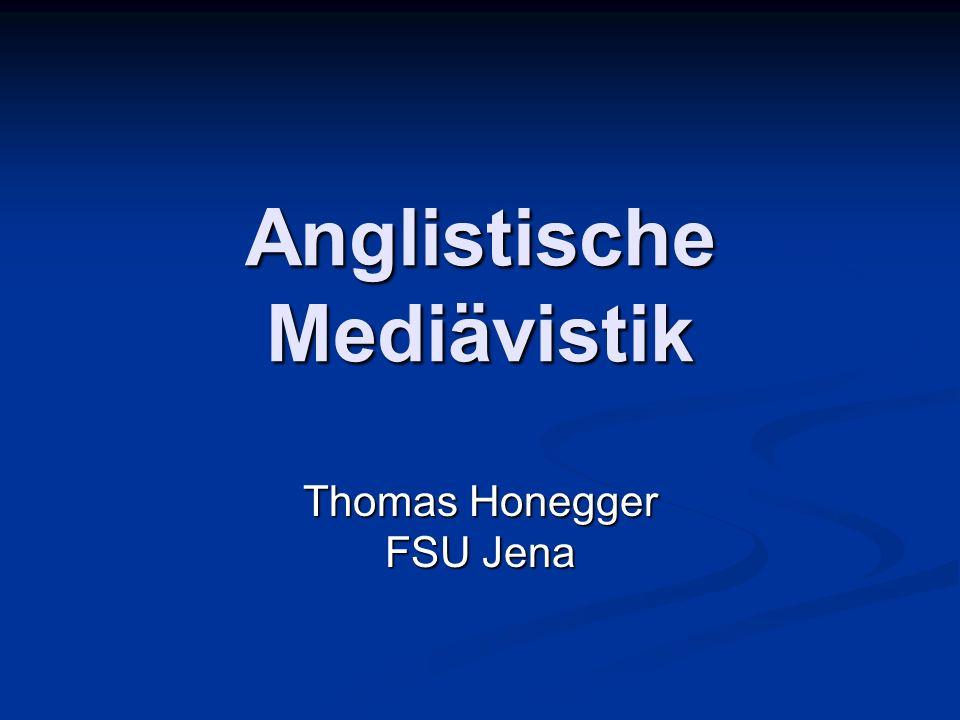 Anglistische Mediävistik