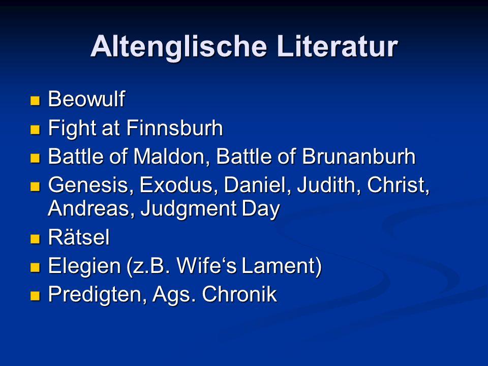Altenglische Literatur
