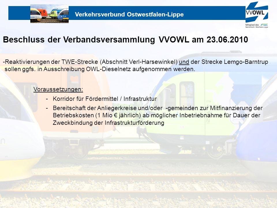 Beschluss der Verbandsversammlung VVOWL am 23.06.2010