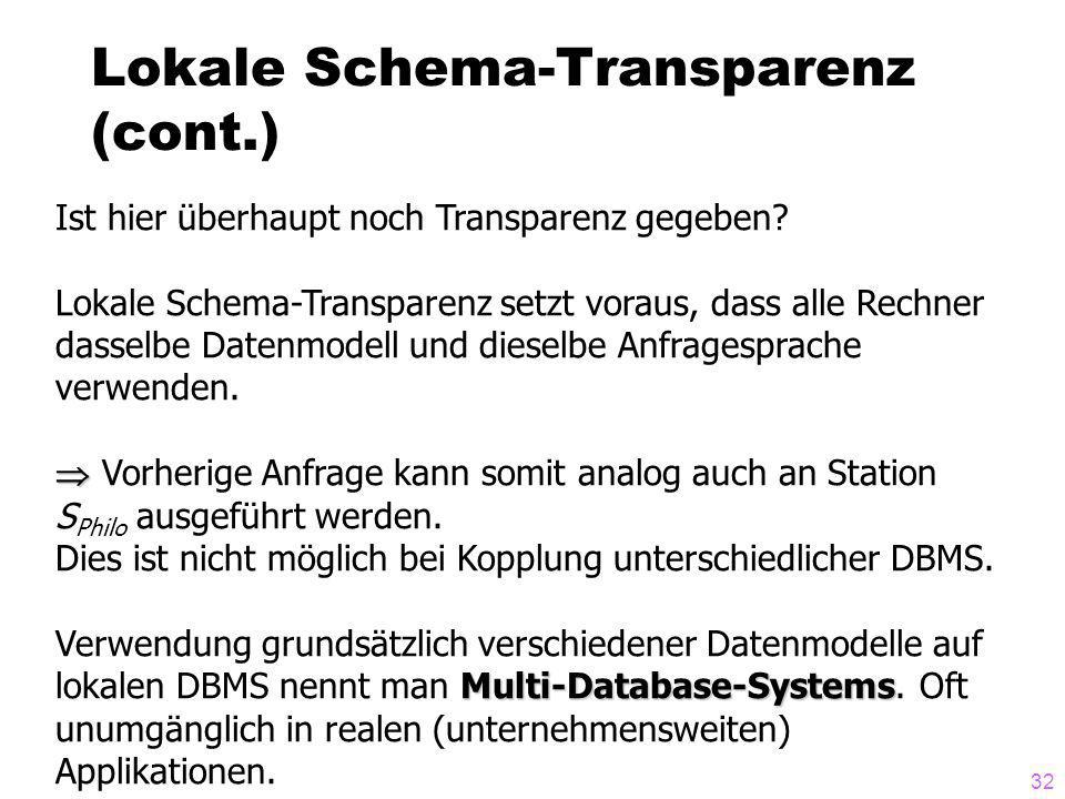 Lokale Schema-Transparenz (cont.)