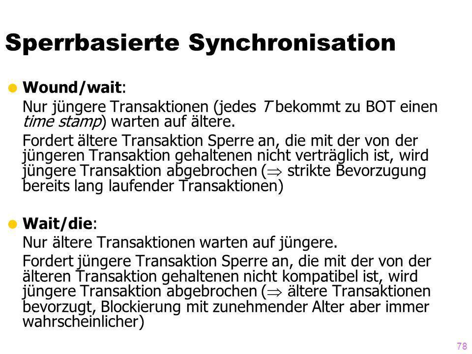Sperrbasierte Synchronisation