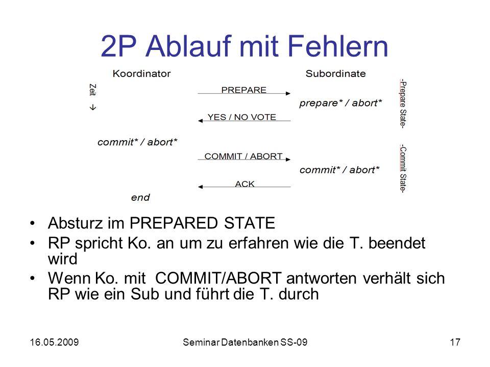 Seminar Datenbanken SS-09