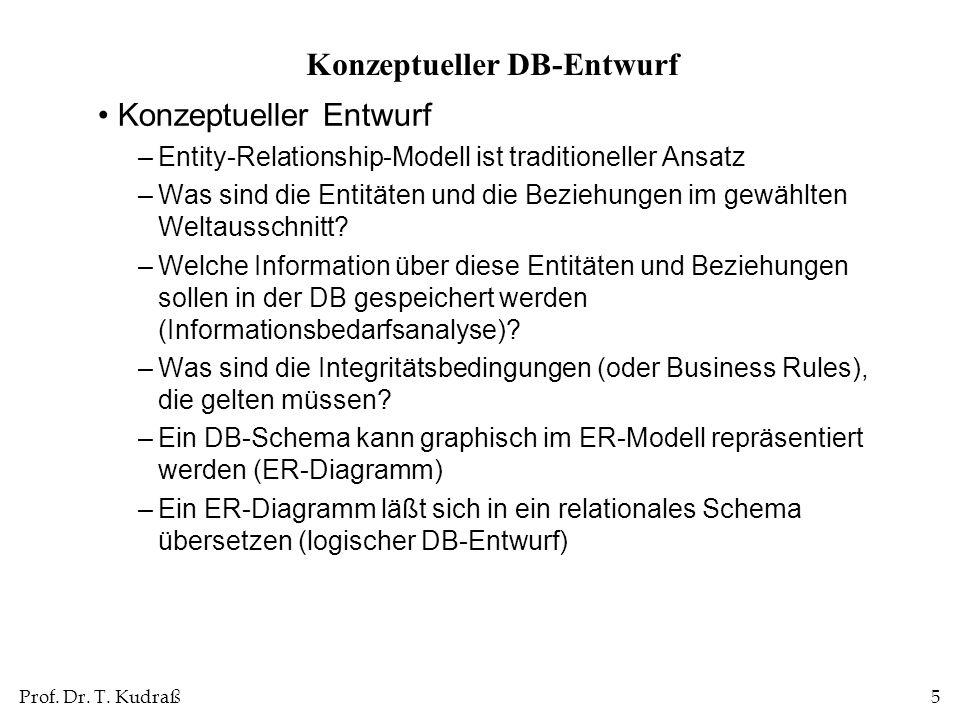 Konzeptueller DB-Entwurf