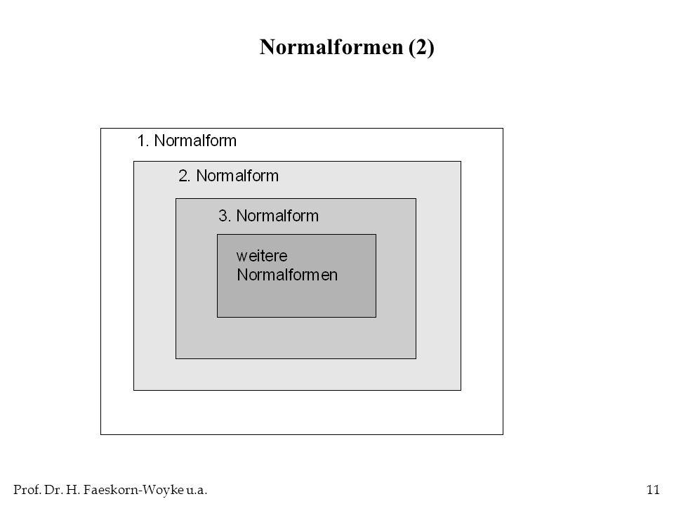 Normalformen (2)