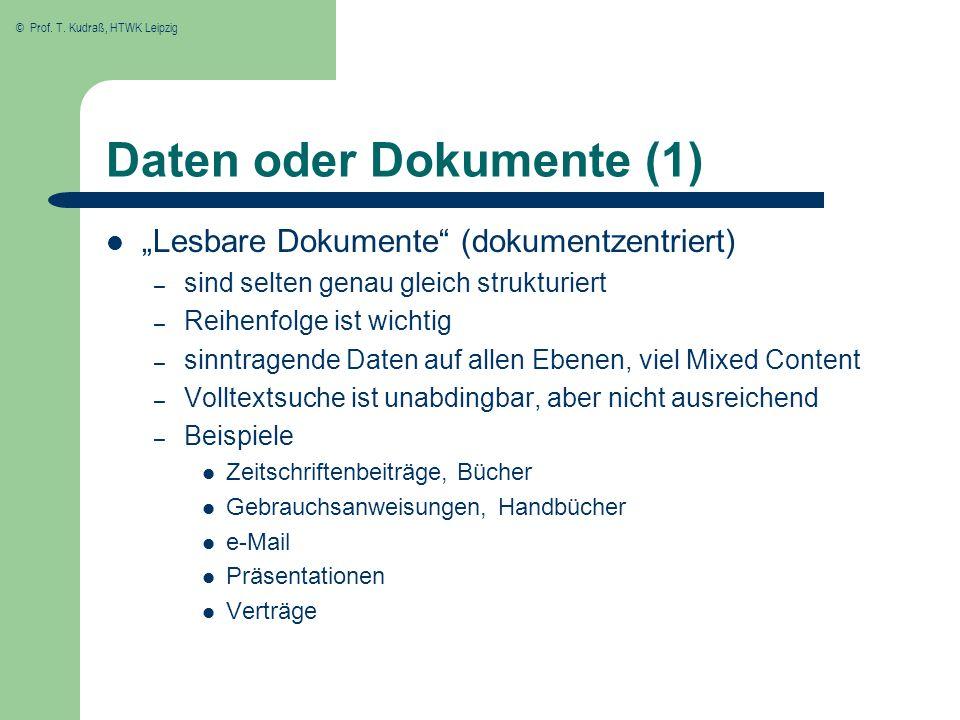 Daten oder Dokumente (1)