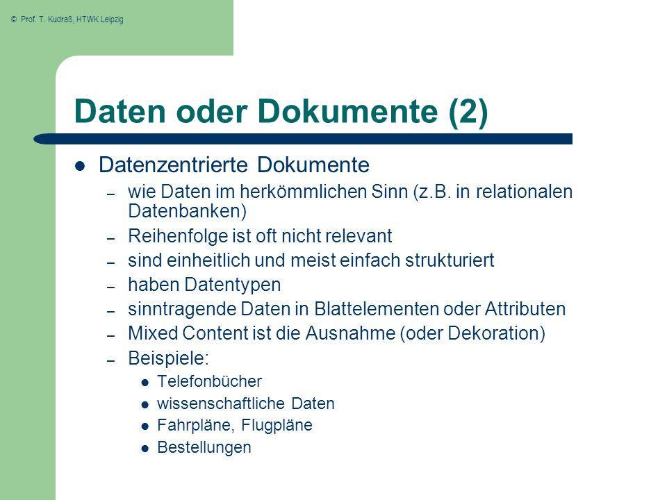 Daten oder Dokumente (2)