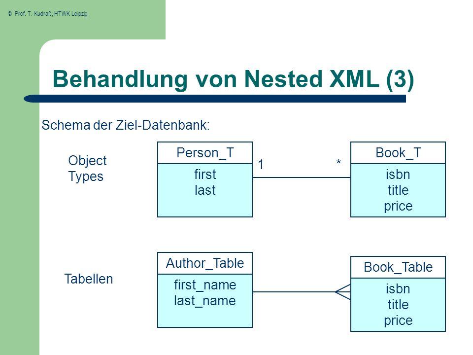Behandlung von Nested XML (3)