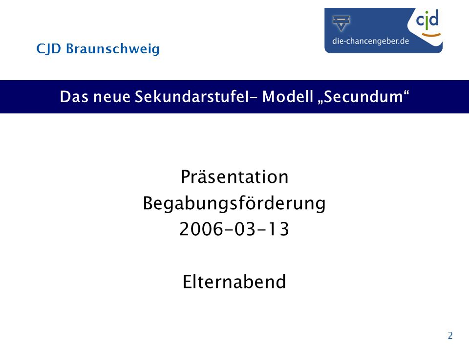 "Das neue SekundarstufeI- Modell ""Secundum"