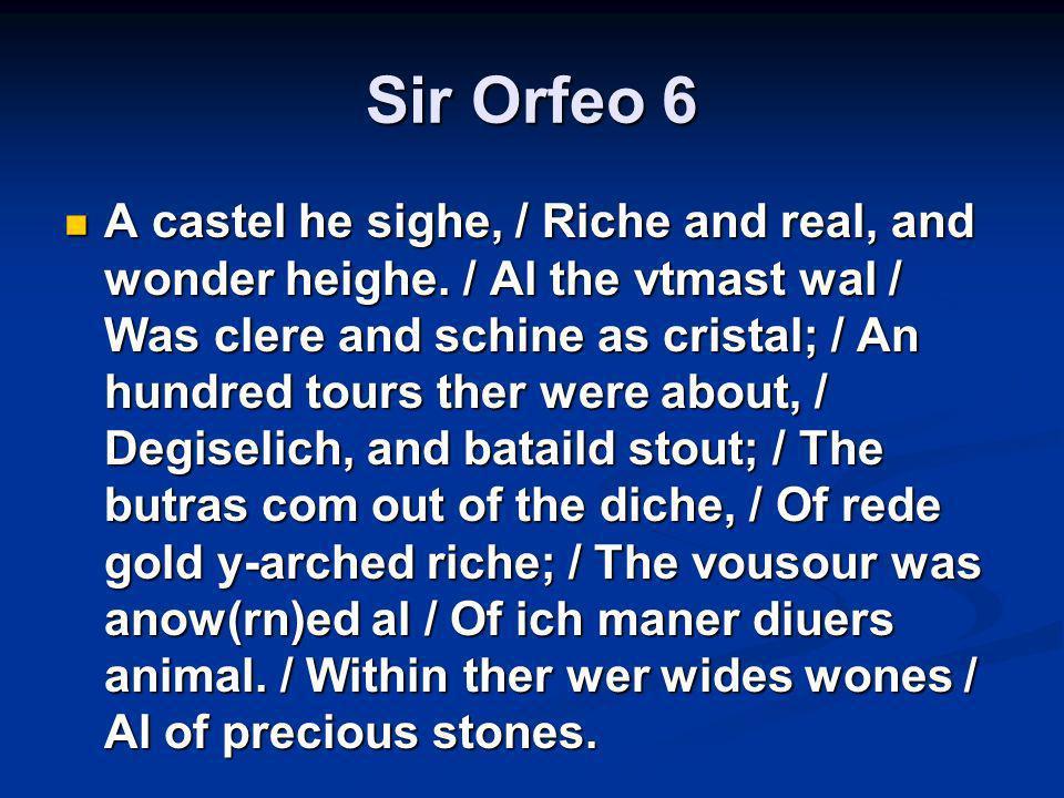 Sir Orfeo 6