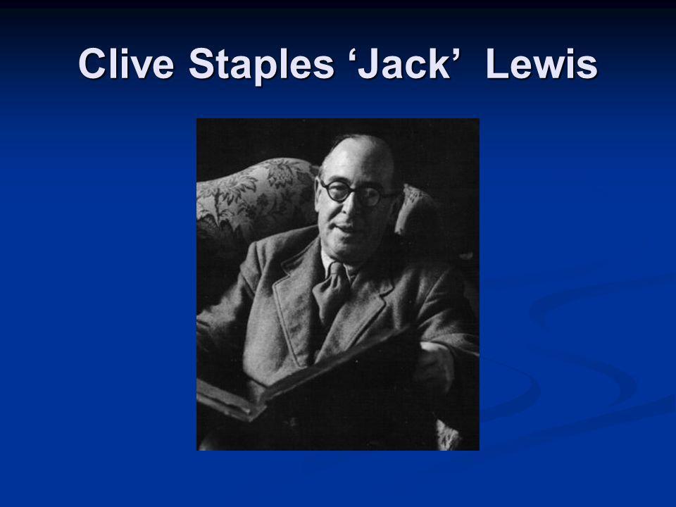 Clive Staples 'Jack' Lewis