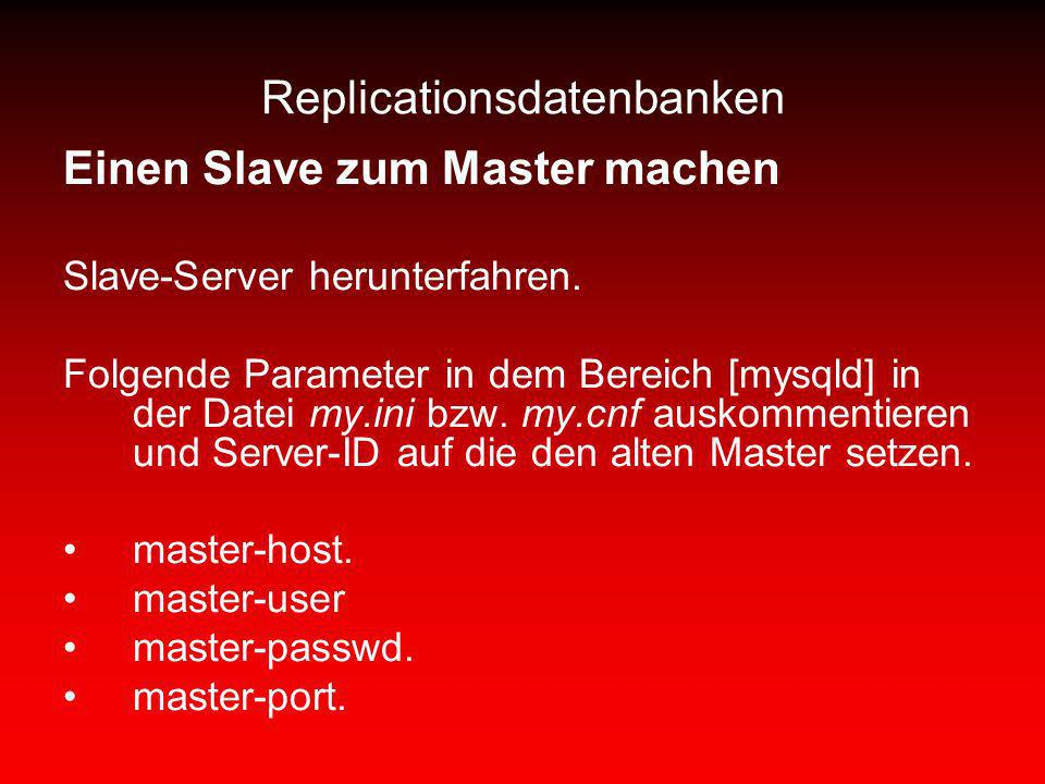 Replicationsdatenbanken
