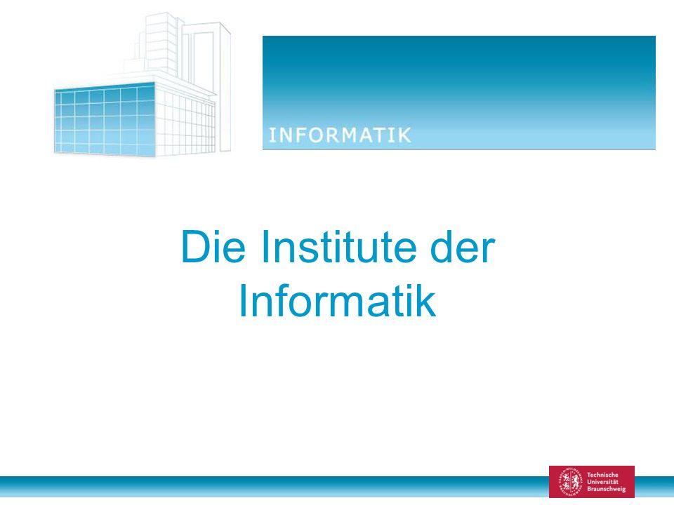 Die Institute der Informatik