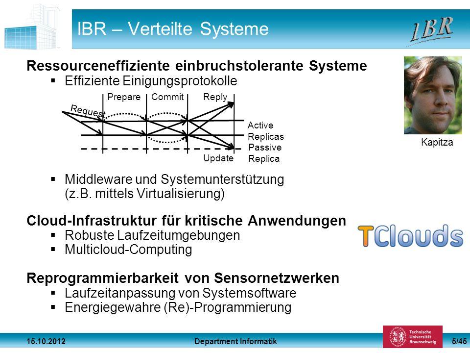 IBR – Verteilte Systeme
