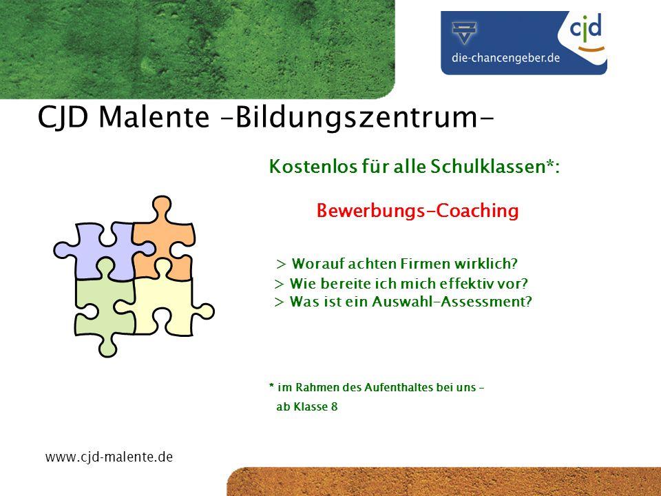 CJD Malente –Bildungszentrum-