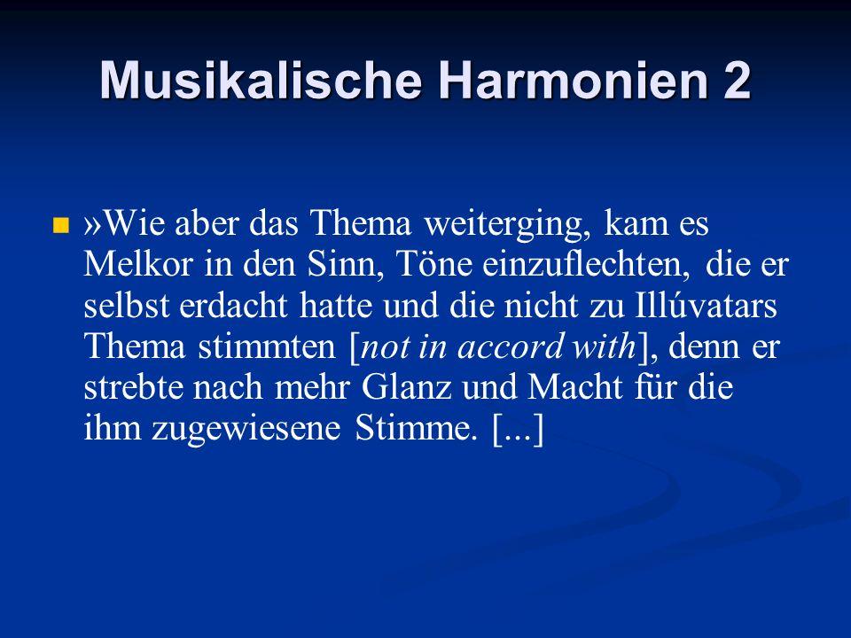 Musikalische Harmonien 2