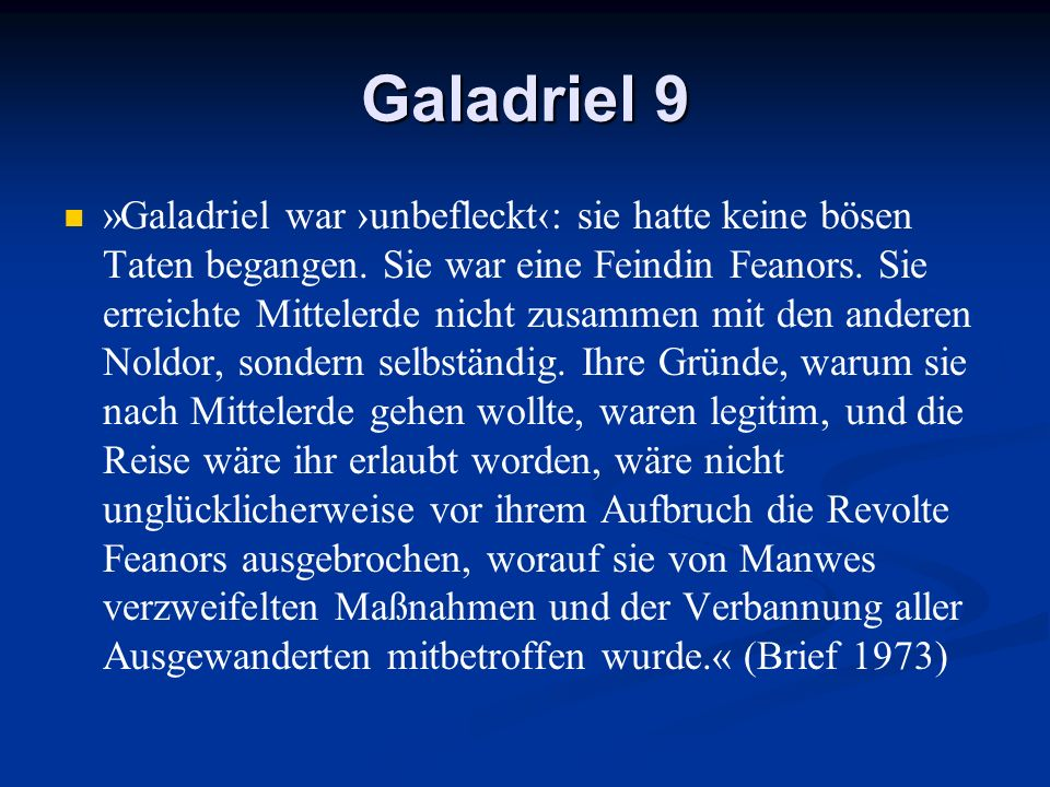 Galadriel 9