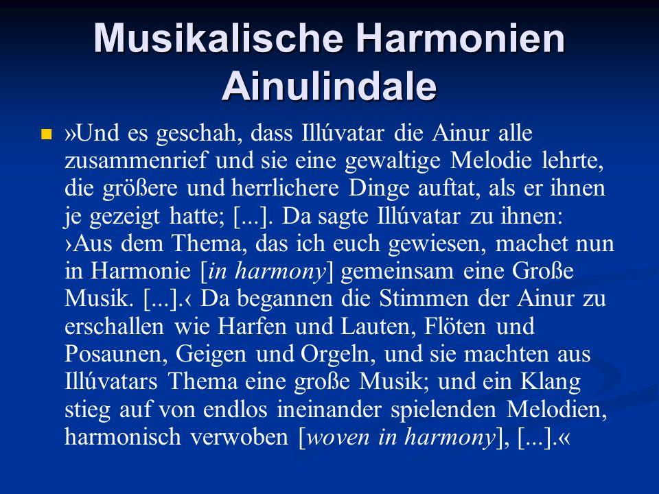 Musikalische Harmonien Ainulindale