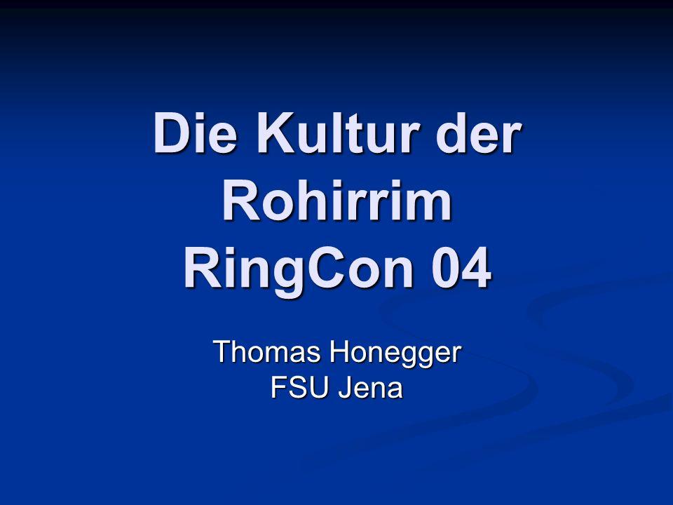 Die Kultur der Rohirrim RingCon 04