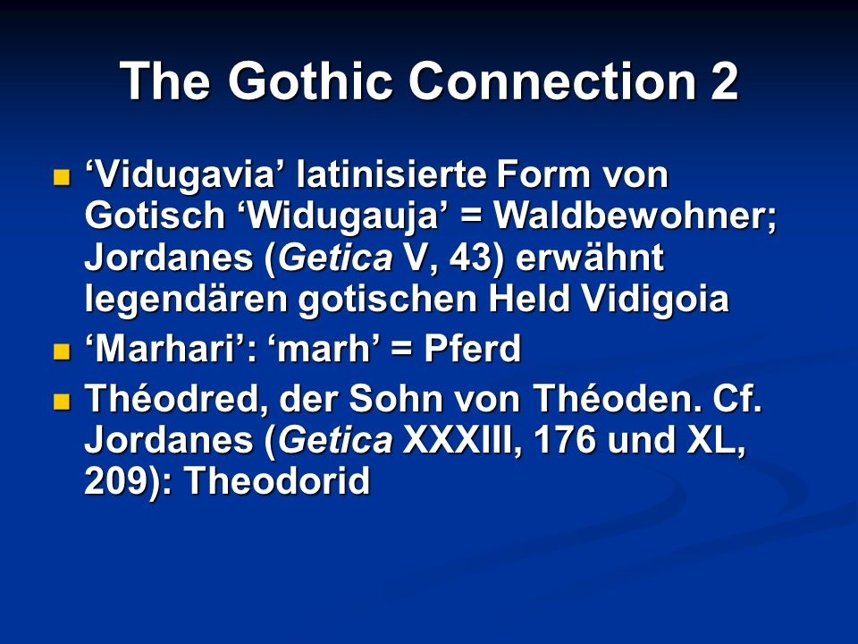 The Gothic Connection 2