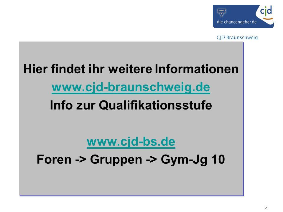 Hier findet ihr weitere Informationen www.cjd-braunschweig.de