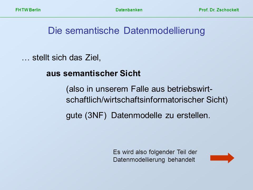 Die semantische Datenmodellierung