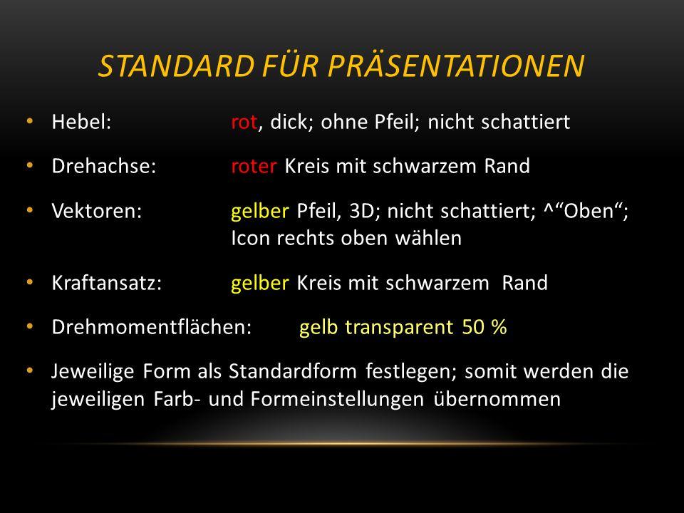 Standard für Präsentationen
