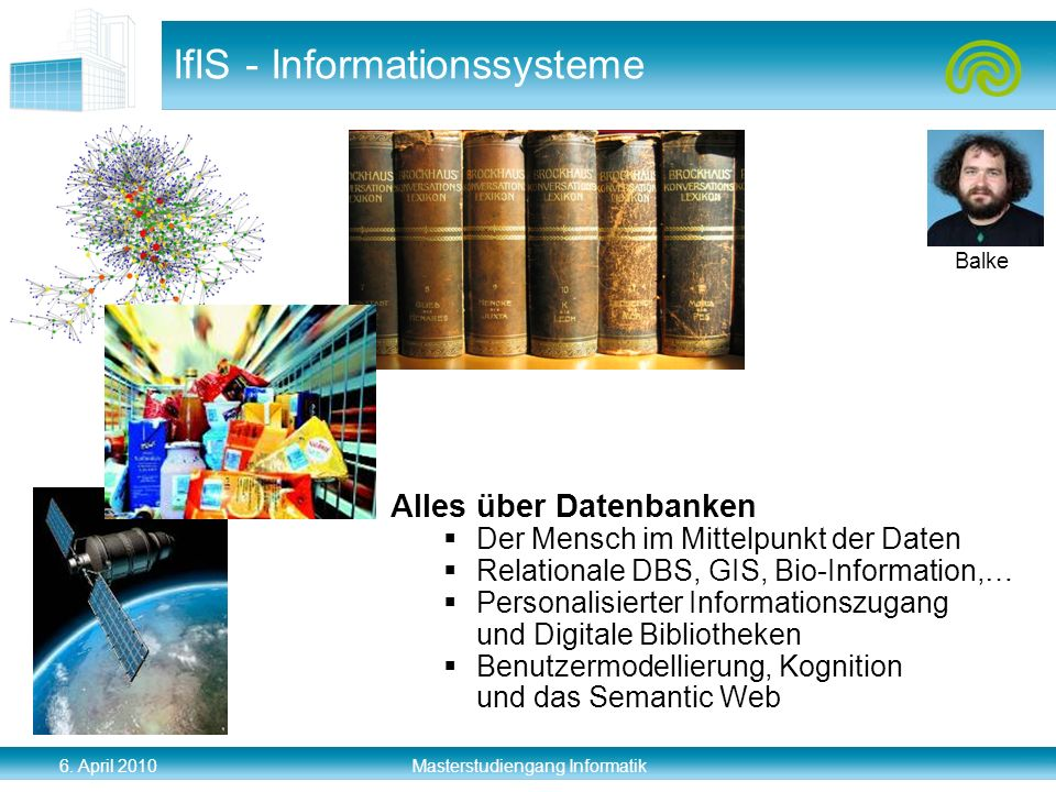 IfIS - Informationssysteme