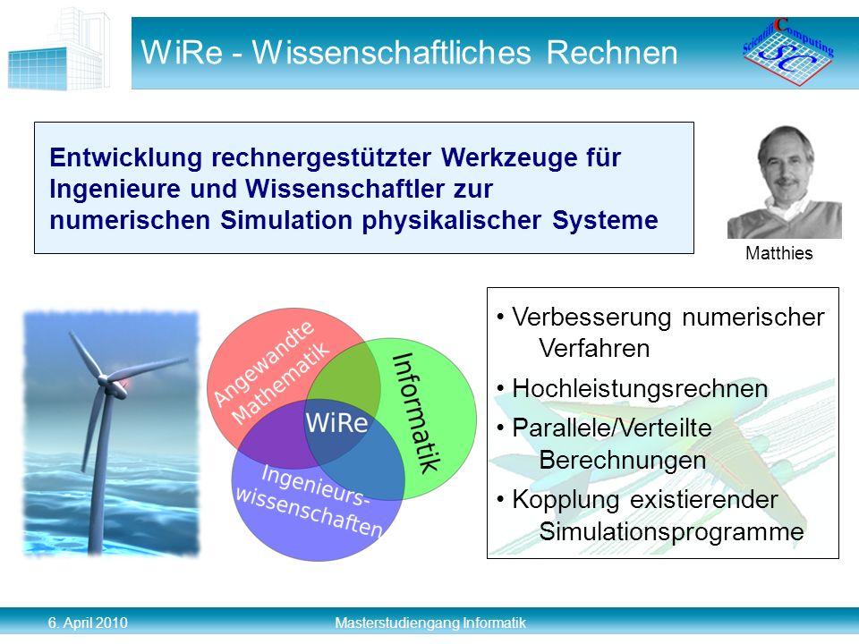 WiRe - Wissenschaftliches Rechnen