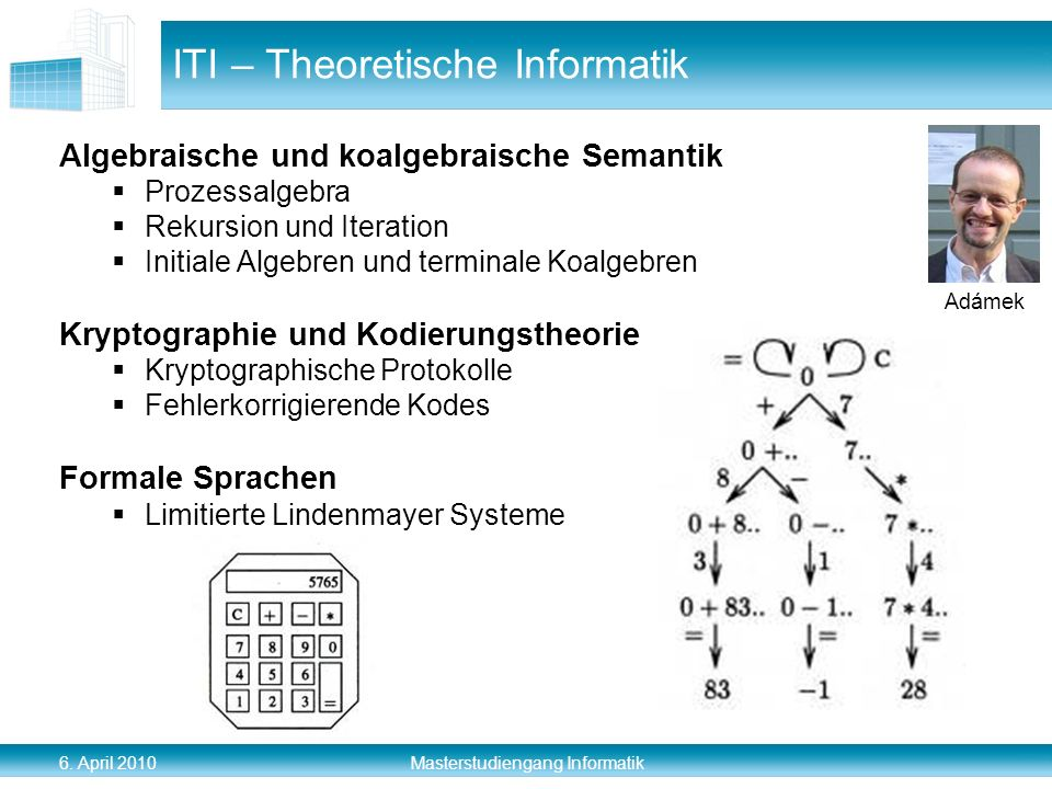 ITI – Theoretische Informatik