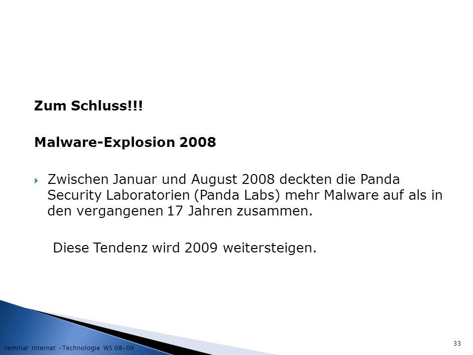 Diese Tendenz wird 2009 weitersteigen.