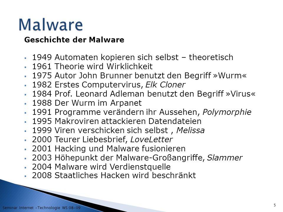 Malware 1949 Automaten kopieren sich selbst – theoretisch