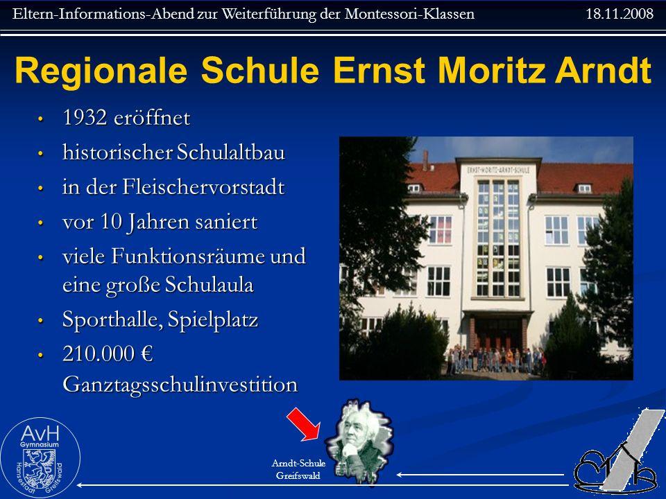 Regionale Schule Ernst Moritz Arndt