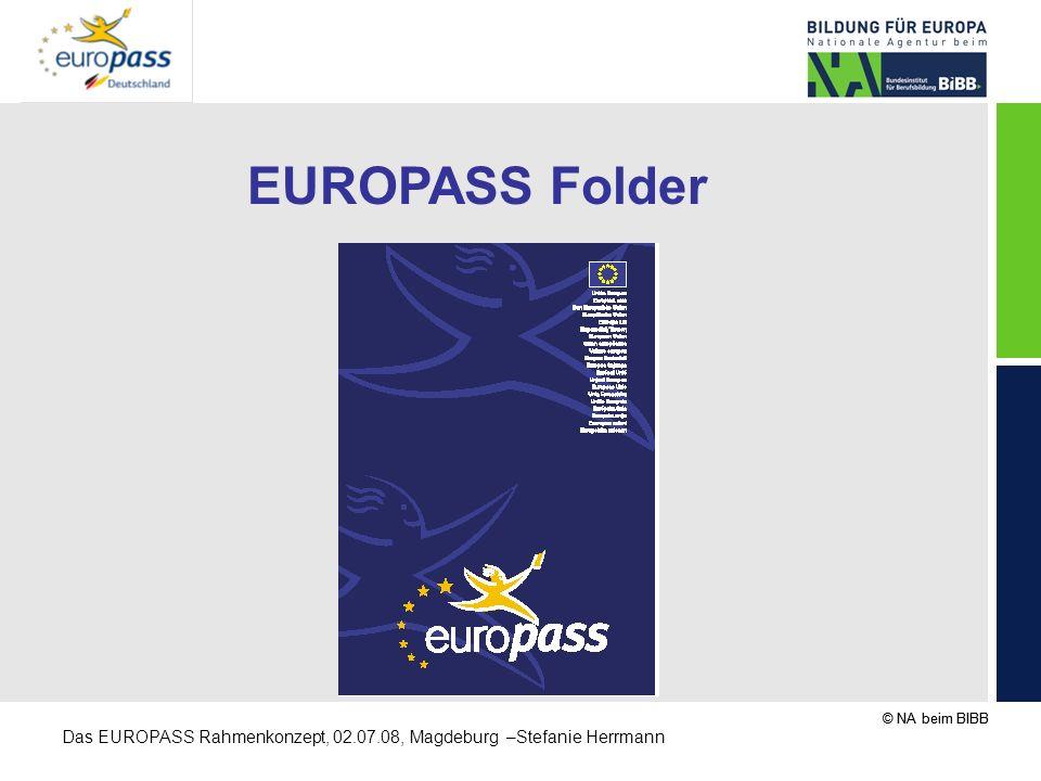 EUROPASS Folder