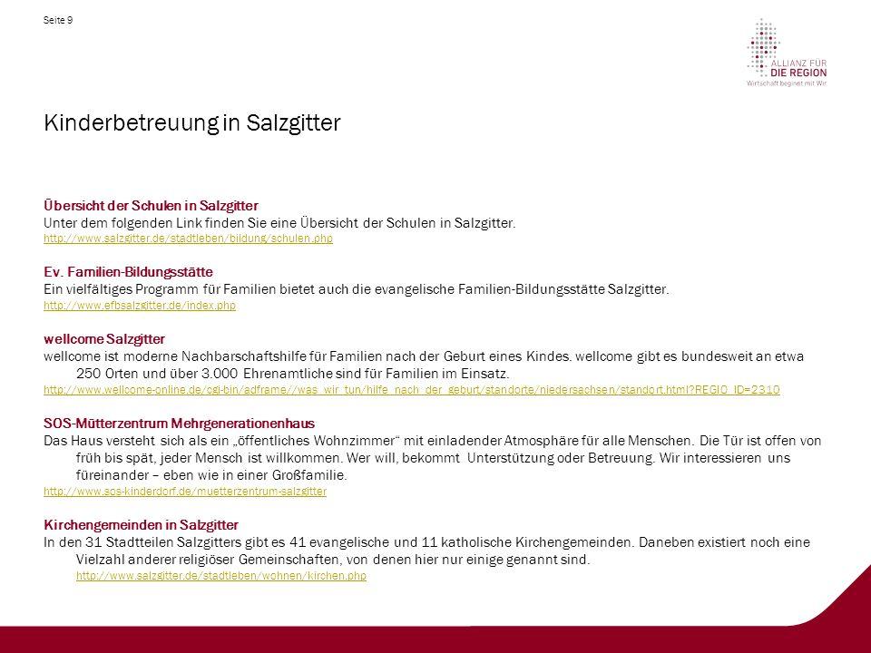 Kinderbetreuung in Salzgitter