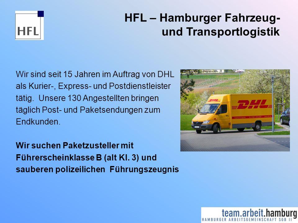 HFL – Hamburger Fahrzeug- und Transportlogistik