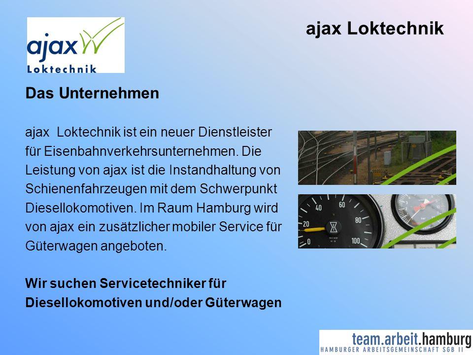 ajax Loktechnik Das Unternehmen