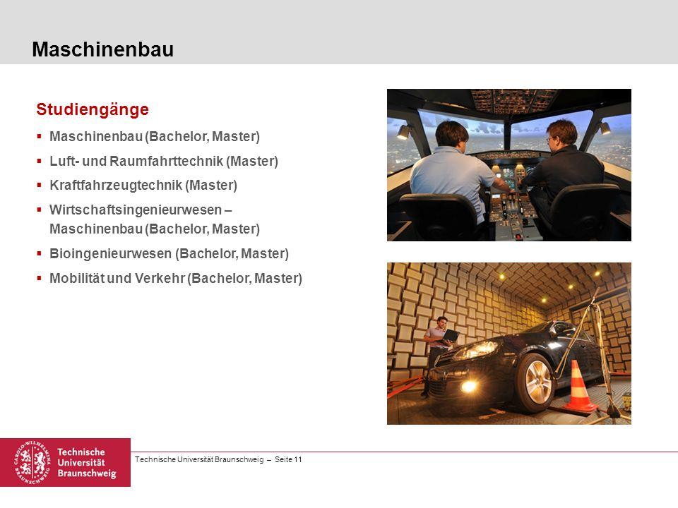 Maschinenbau Studiengänge Maschinenbau (Bachelor, Master)