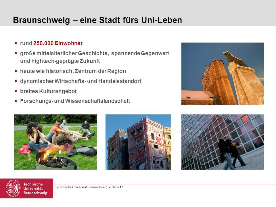 Braunschweig – eine Stadt fürs Uni-Leben