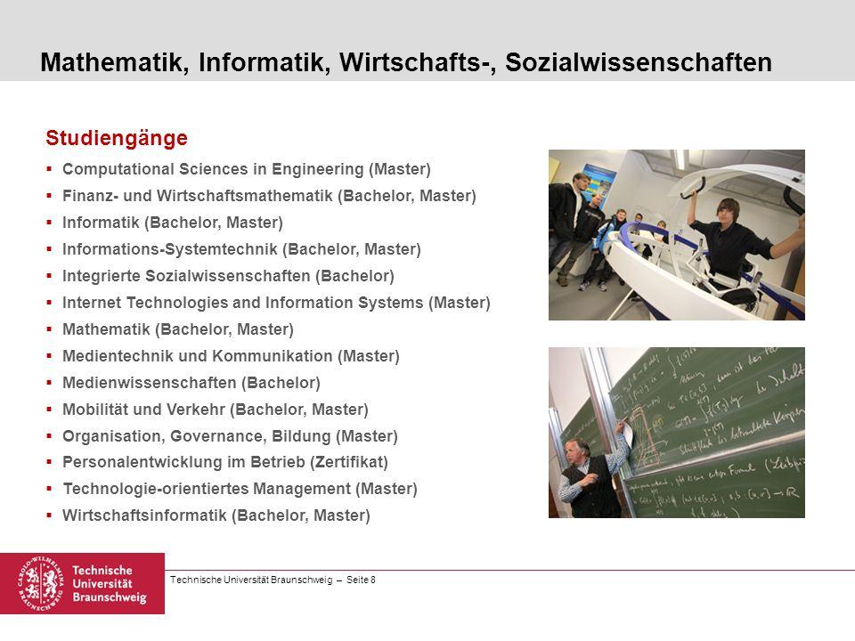 Mathematik, Informatik, Wirtschafts-, Sozialwissenschaften