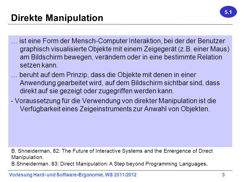 5.1 Direkte Manipulation.