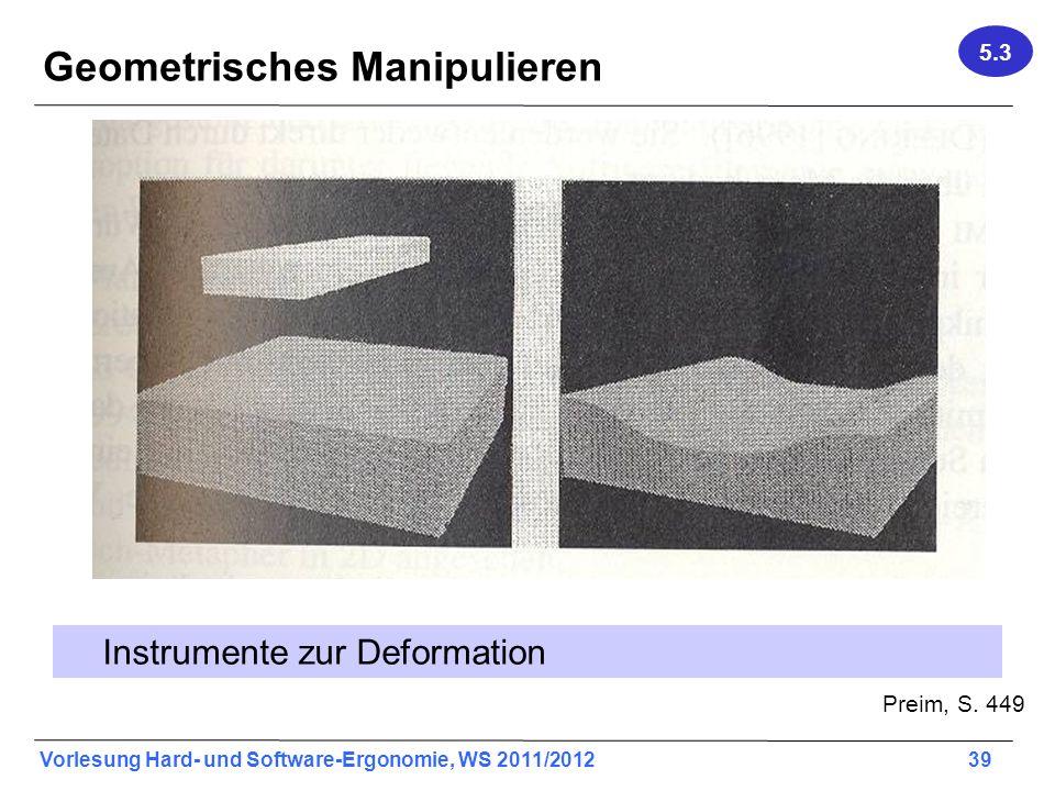 Geometrisches Manipulieren