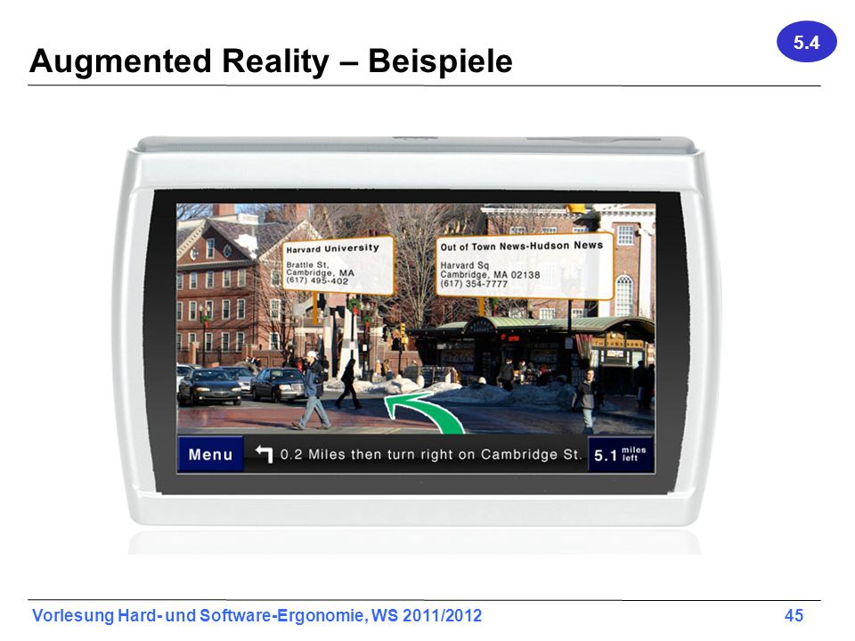 Augmented Reality – Beispiele
