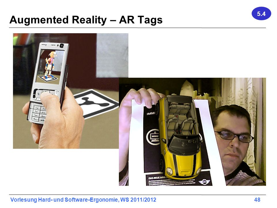 Augmented Reality – AR Tags