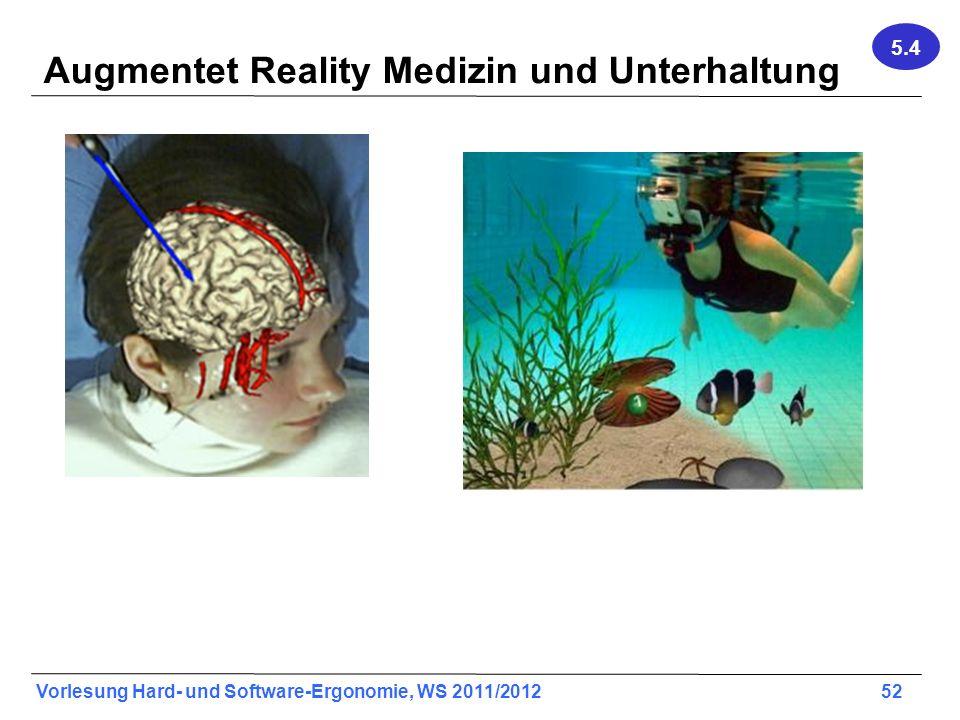 Augmentet Reality Medizin und Unterhaltung