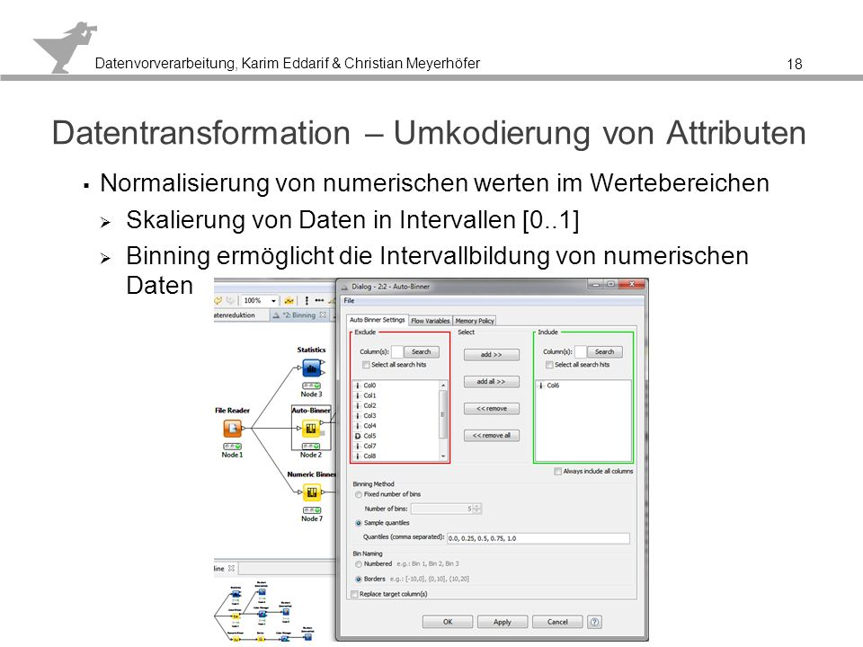 Datentransformation – Umkodierung von Attributen