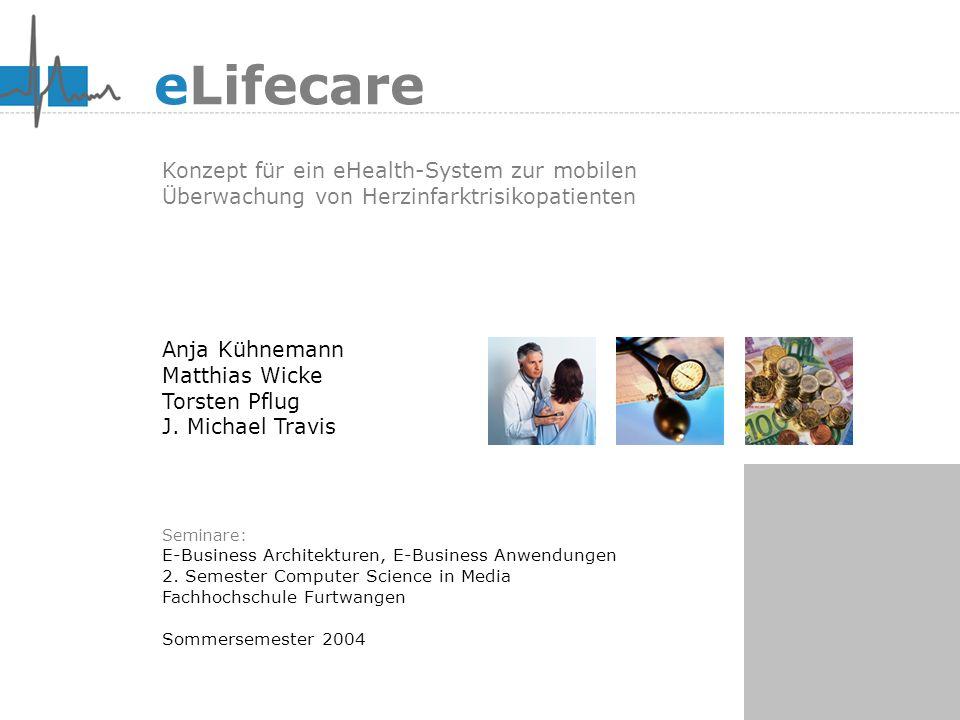 eLifecare Konzept für ein eHealth-System zur mobilen