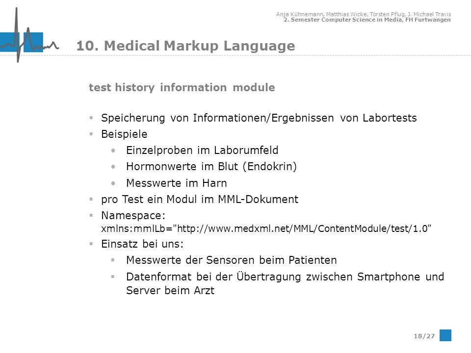 10. Medical Markup Language