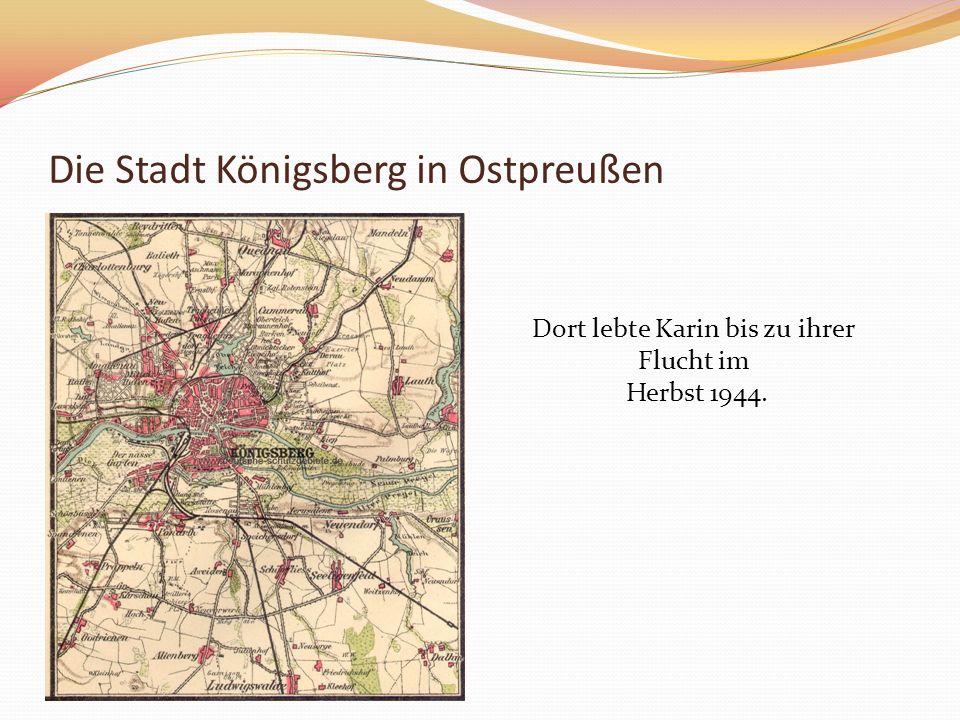 Die Stadt Königsberg in Ostpreußen