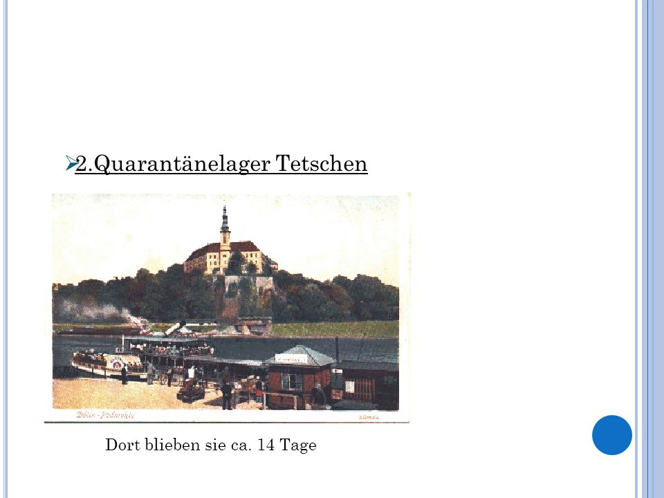 2.Quarantänelager Tetschen