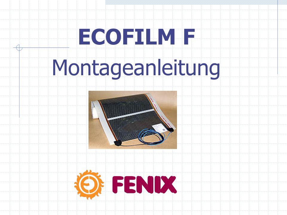 ECOFILM F Montageanleitung